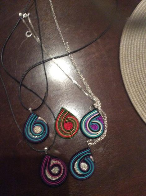 hand-made pendants
