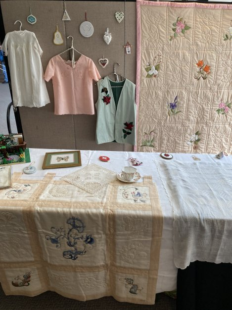 quilts and garments