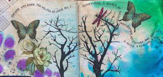 Fabric Journals Judith EMc